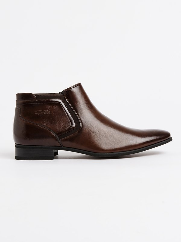 GINO PAOLI Chelsea Boots Brown