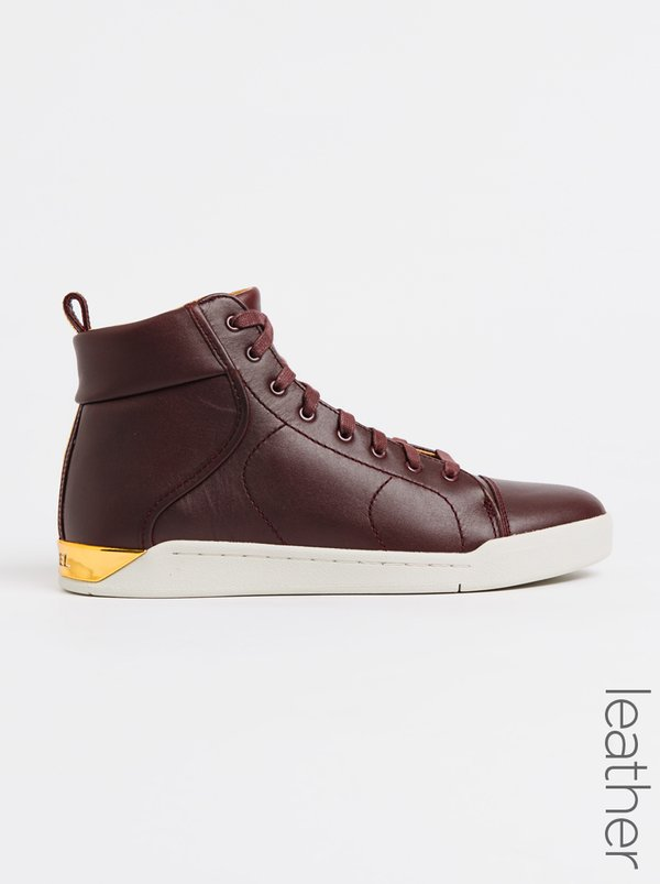 Diesel Tempest Leather S-Marquese Hi Burgundy