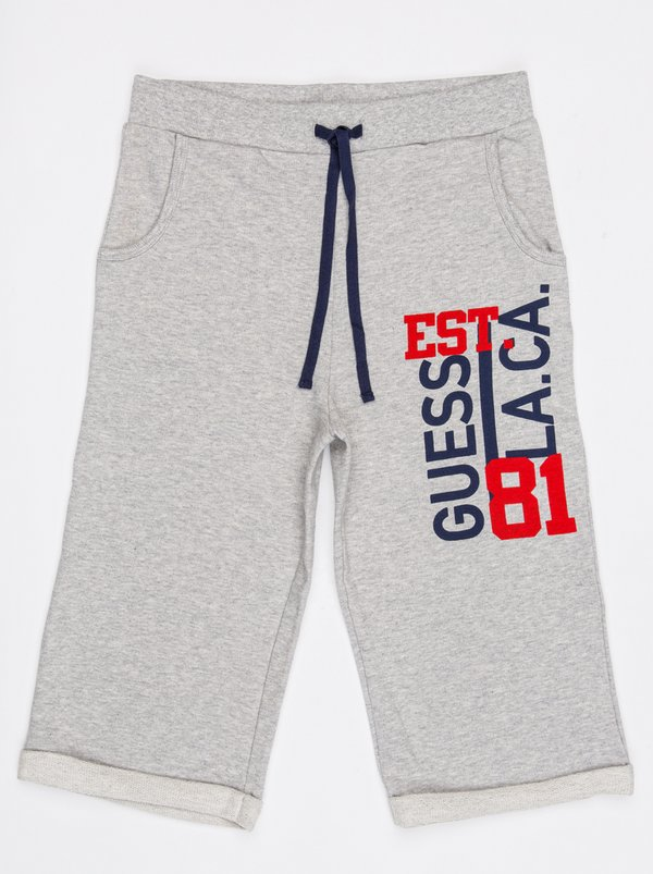 Guess Jogger Shorts Grey