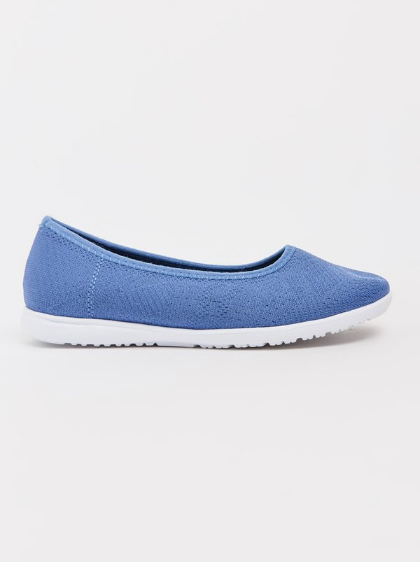 Queue Pattern Pumps Blue