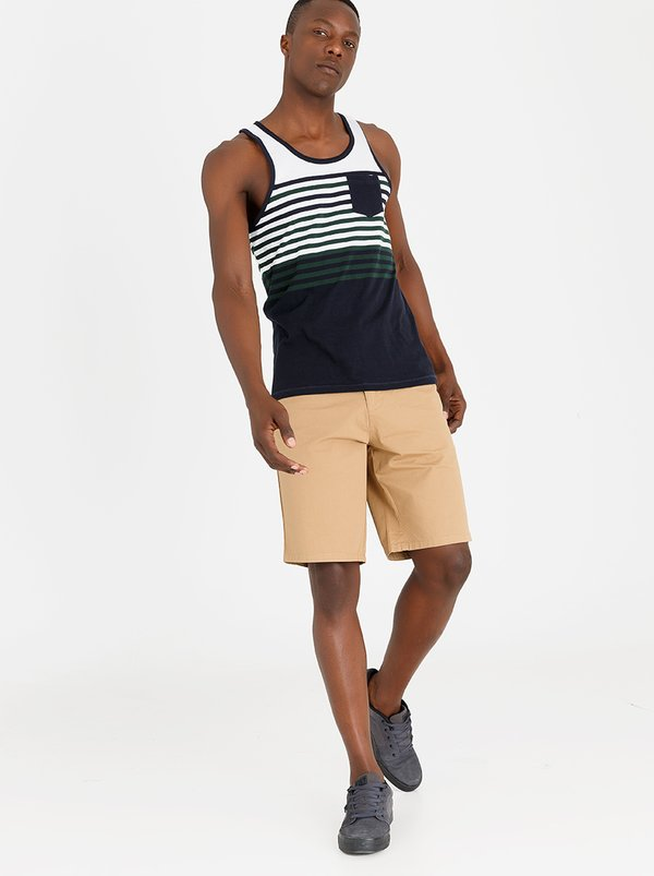 DC Worker Chino Walkshort Stone
