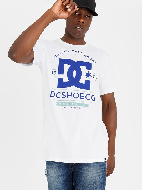DC Glorious Past Tee White