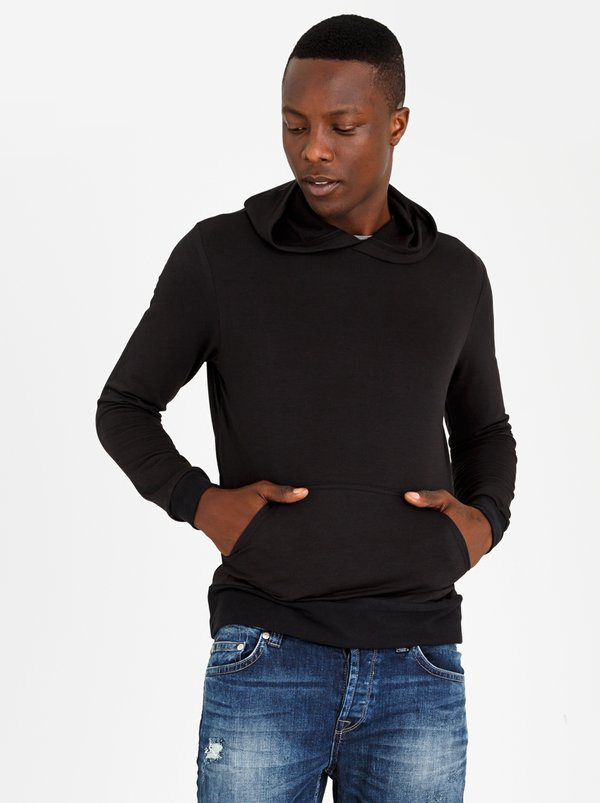 STYLE REPUBLIC Urban Fleece Hoody Black