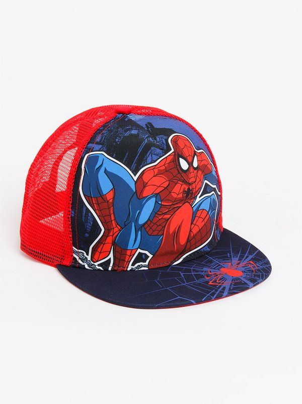 Character Fashion Spider - Man Trucker Cap Blue