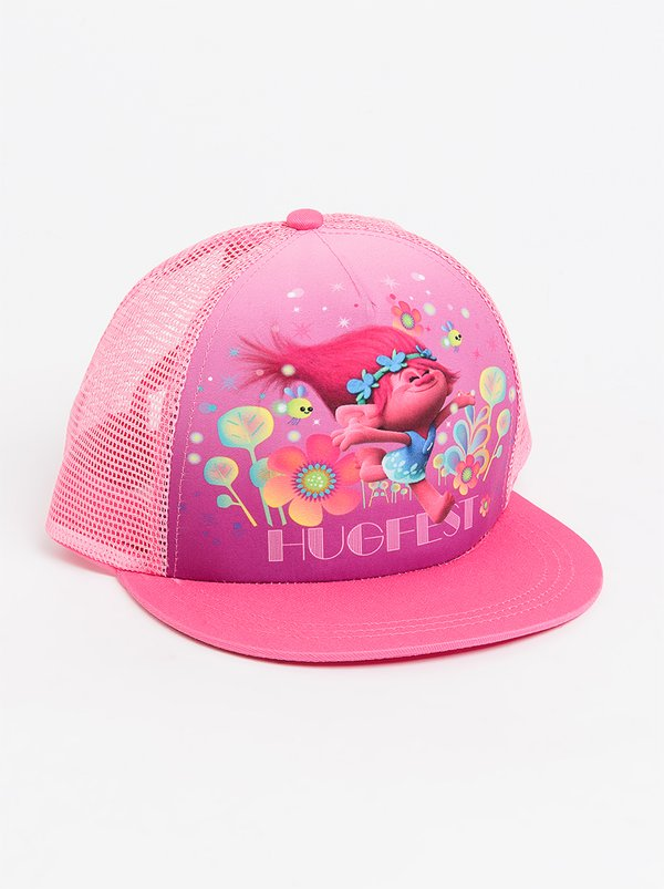 Character Fashion Trolls Trucker Cap Dark Pink