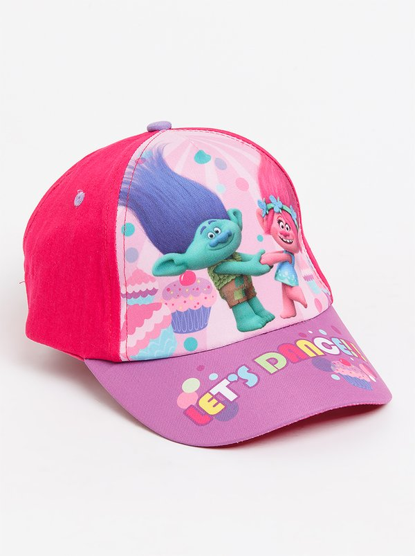 Character Fashion Trolls Peak Cap Multi-colour