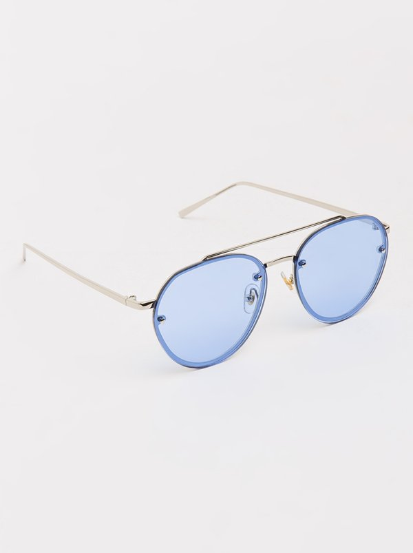 Aviator Sunglasses Blue | Joy Collectables