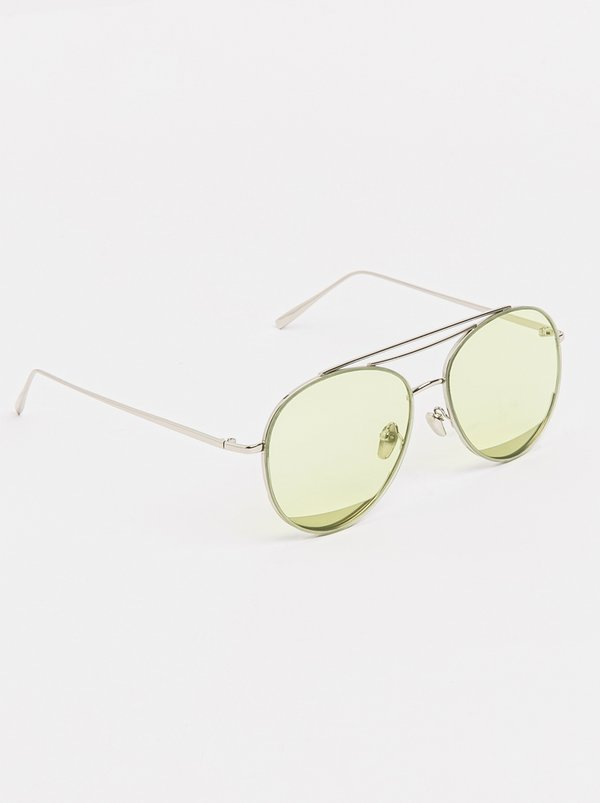 Aviator Sunglasses Yellow | Joy Collectables