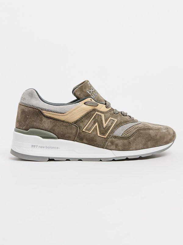 New Balance Mius Winter Peaks Sneakers Khaki Green | New Balance
