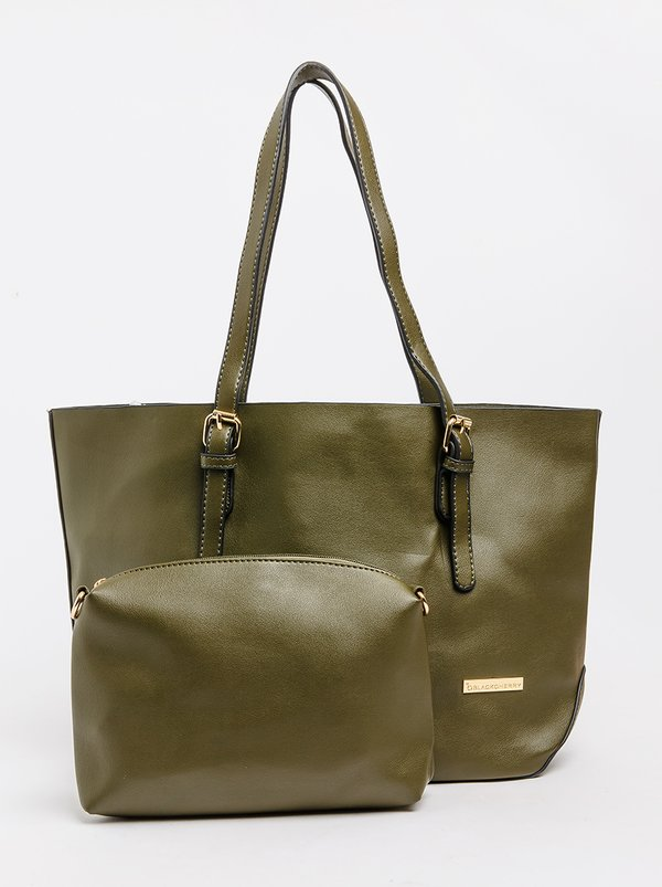 BLACKCHERRY Shopper Bag Khaki Green