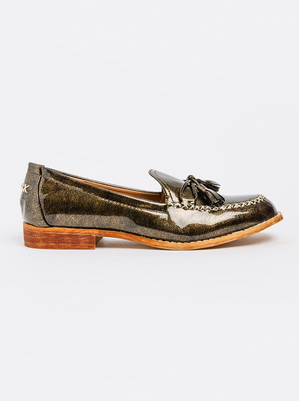 Parma Loafers Gold | Dolce Vita