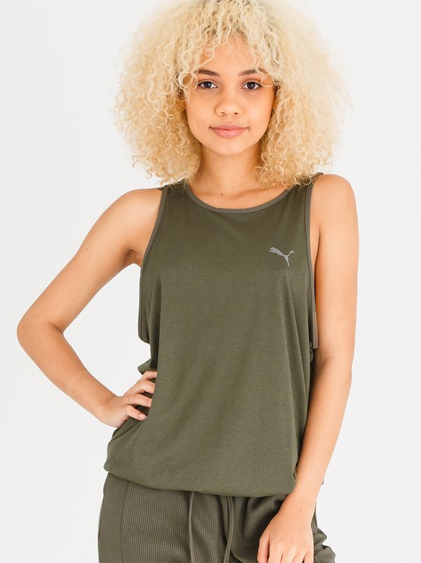 PUMA Transition Tank Khaki Green