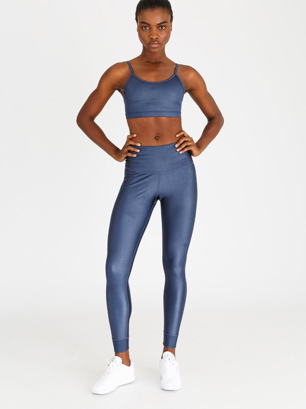 Reebok Training Metallic High-Rise Tights Dark Blue