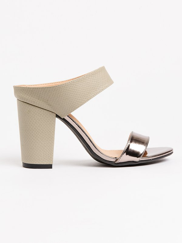 cheap footlocker pictures clearance in China Strappy Mules Dark Grey Bata exclusive sale online IN9nSE4dp