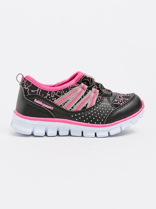 Bubblegummers Black Shoes