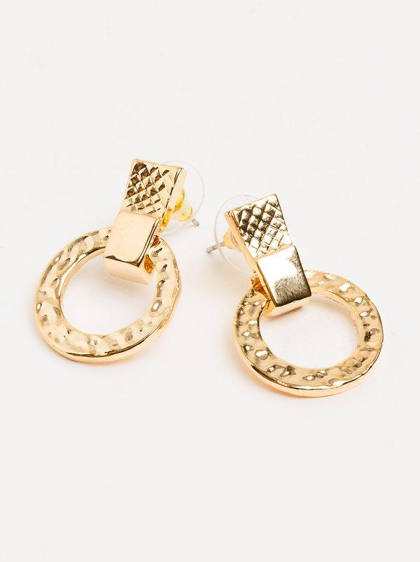 Drop Earrings Gold | STYLE REPUBLIC