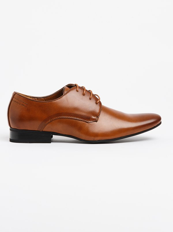 Franco Ceccato Formal Lace Up Shoe Tan