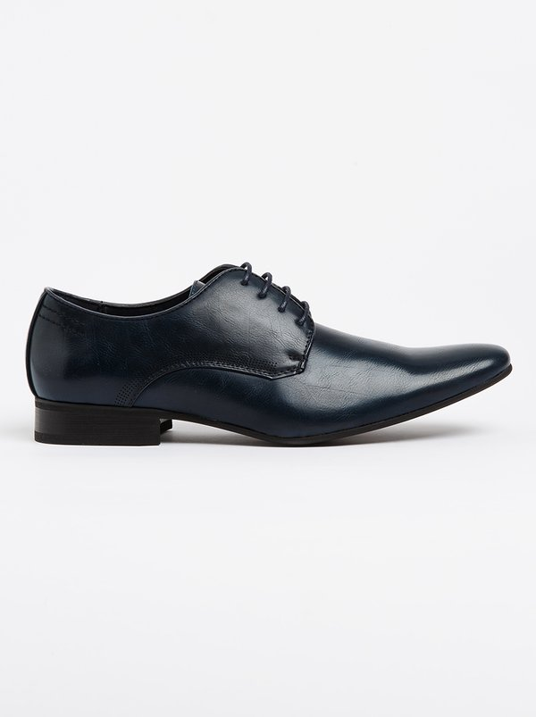 Franco Ceccato Formal Lace Up Shoe Navy