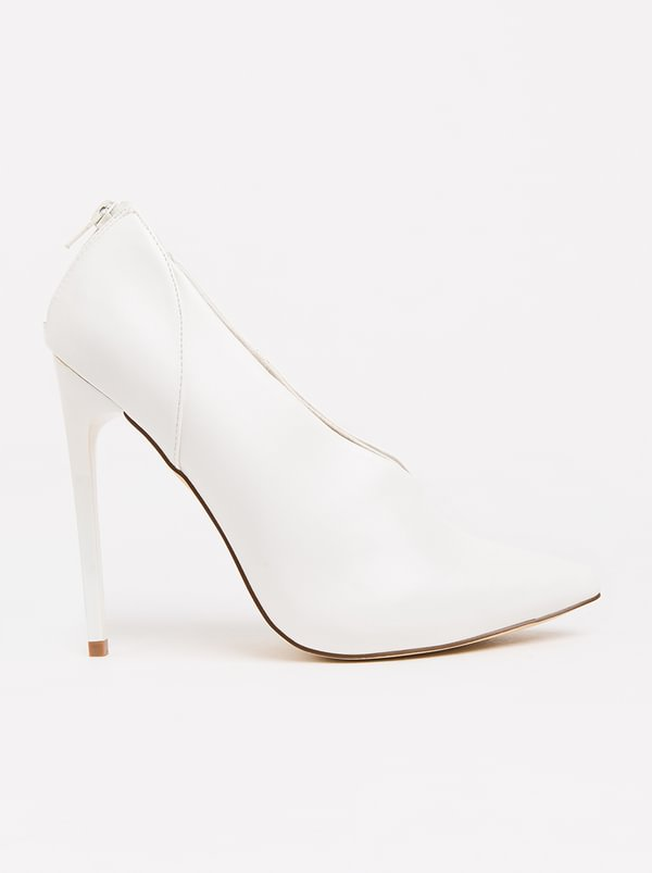 Madison Madison McCoy High Heels White 2014 new sale online sale find great pay with paypal for sale visit cheap price CmMSLEt8