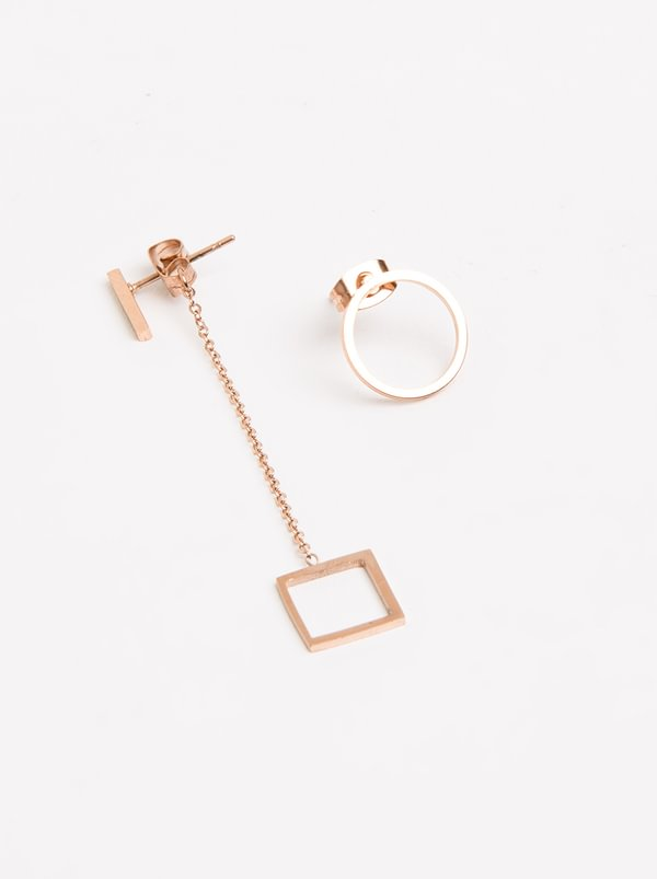 statement mismatch pink jewellery bonas oliver earrings ziya