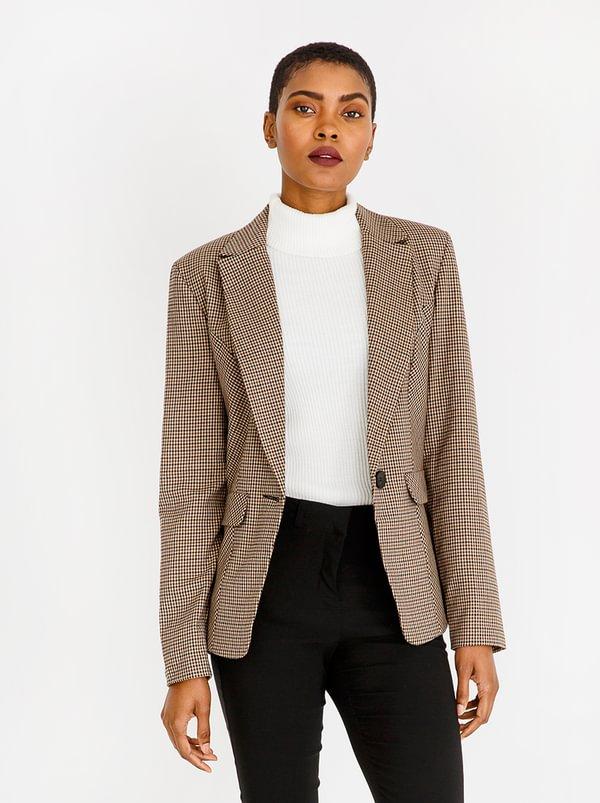 Heritage Check Jacket Multi-colour | Contempo