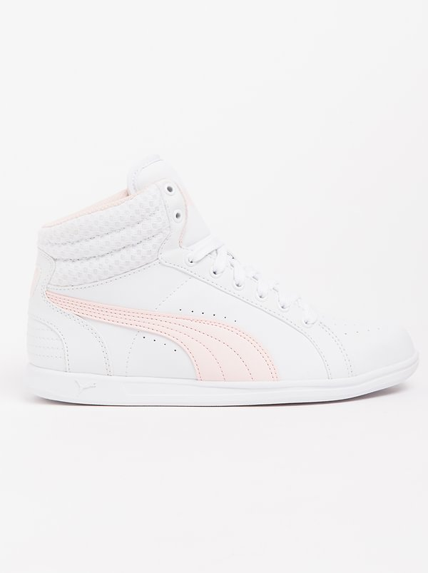 Puma Ikaz Mid V2 White Sneakers cost for sale shop cheap 2014 best prices cheap online cheap sale hot sale nSUS4RP