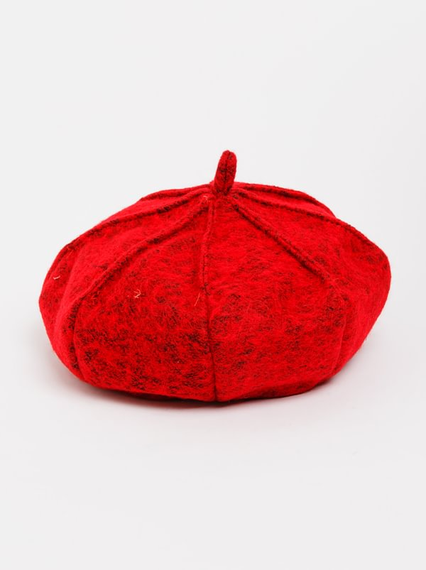 Panel Beret Red | STYLE REPUBLIC