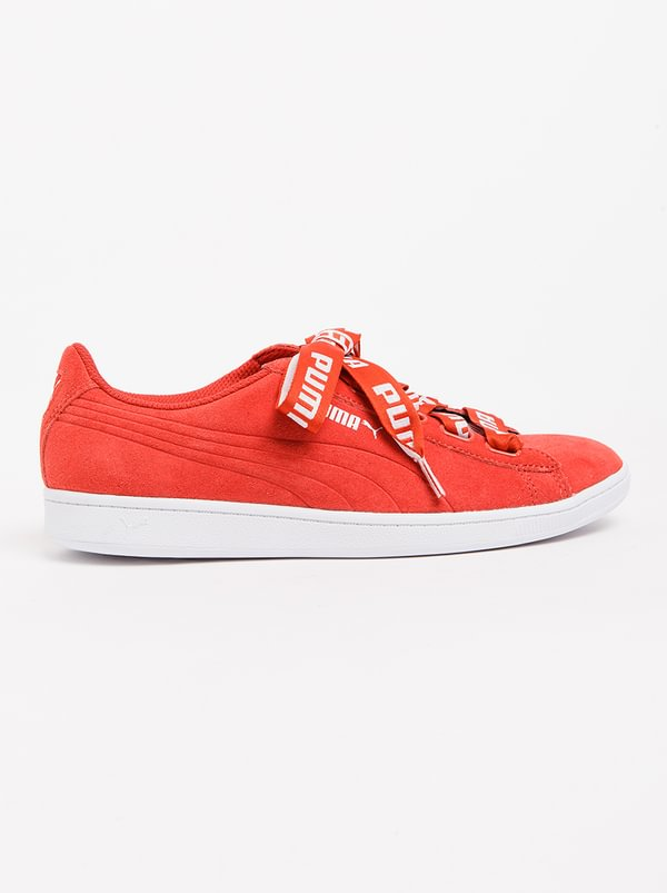 Vikky Ribbon Bold Sneakers Red | PUMA