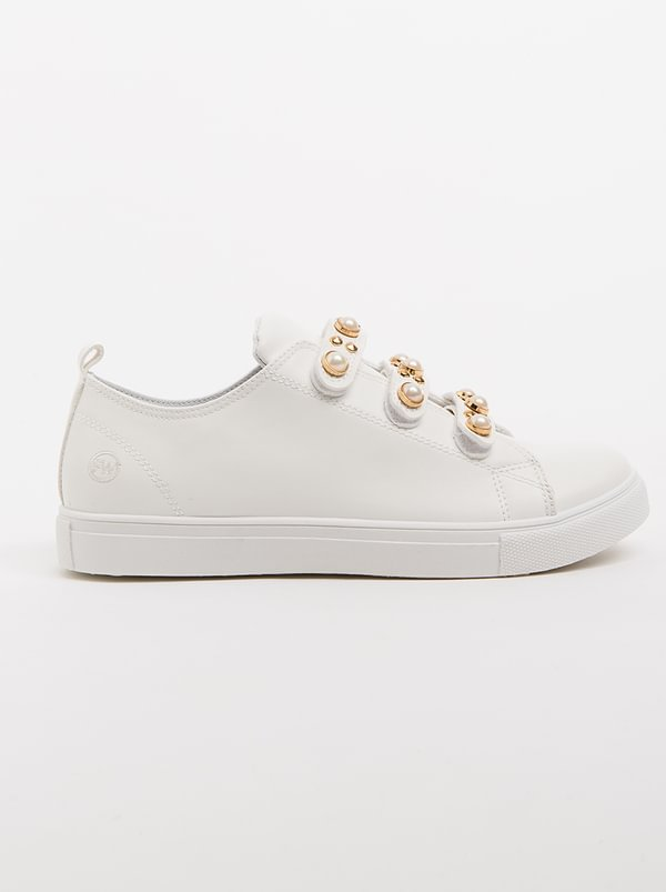 discount real Footwork Footwork Paul Pearl Sneaker White 100% original cheap online tidzDkQQ4A