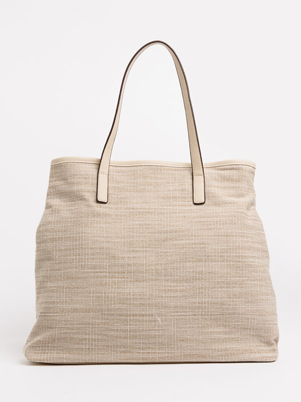 Queue Unstructured Shopper Bag Nude