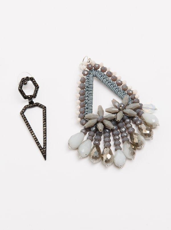Mismatch Earrings Silver | STYLE REPUBLIC