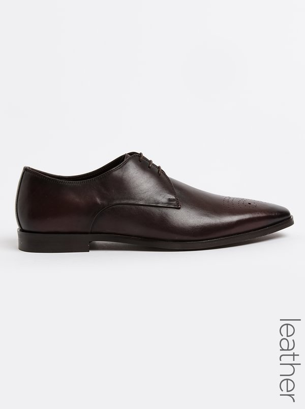 Roberto Morino Roberto Morino Mauritzio Leather Formal Lace Up Shoes Black purchase cheap sale clearance store clearance pre order buy cheap low shipping T6iLJjPSAj