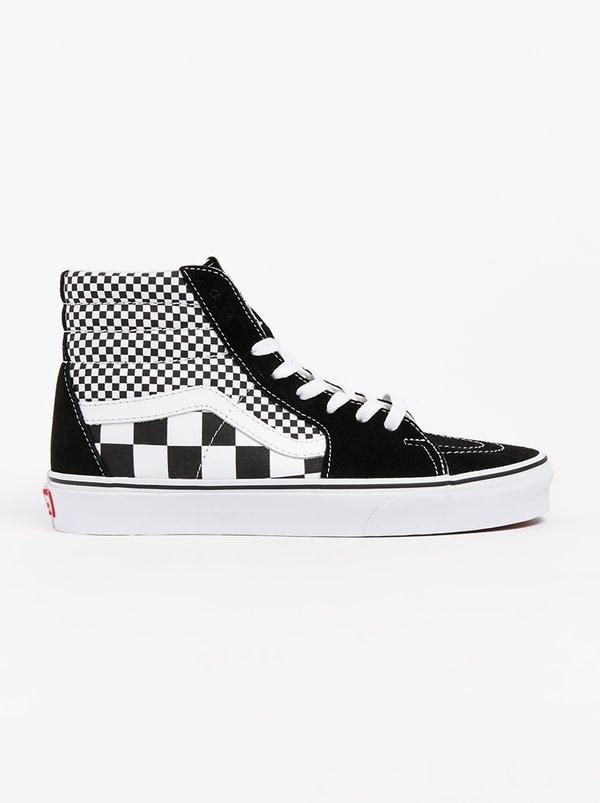 Sk8 Hi Black and White | VANS