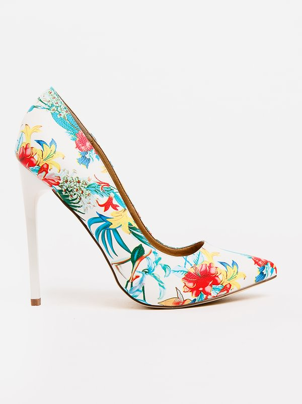 Chantelle Floral Courts White Madison discount under $60 low cost sale online visit online clearance 2015 keERf