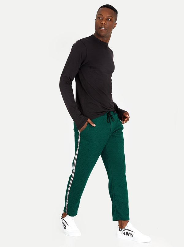 Urban Fleece Trackpants Green   STYLE REPUBLIC