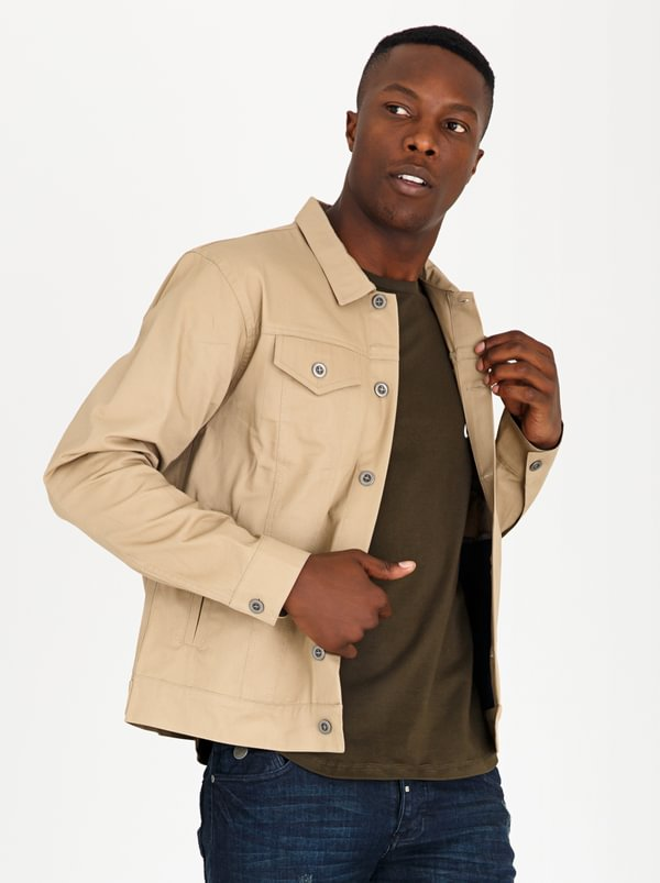 Trucket Patch Pocket Jacket Camel | Resist