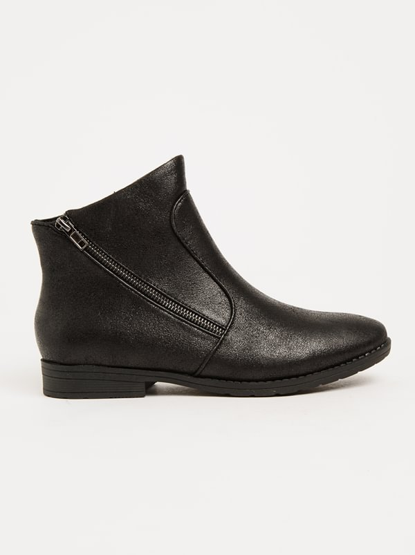 Franco Ceccato Franco Ceccato Ankle Boots With Zip Detail Black extremely cheap online ZzxIttfMR