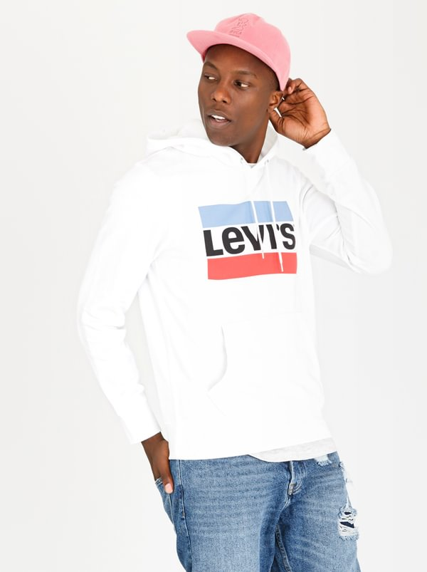 Graphic Logo Hoodie White | Levi's®