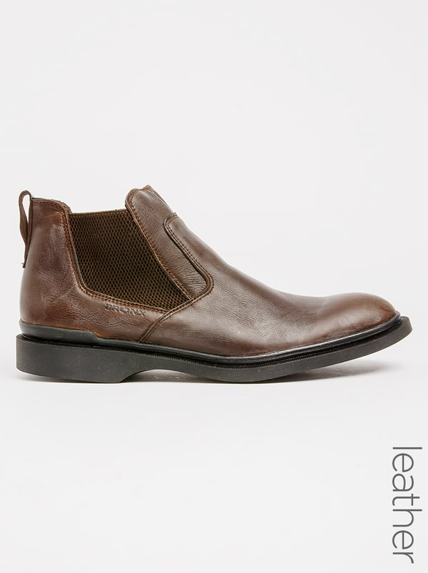 Zah Zah Winston Slip On Boots Brown store sale online GOLQg7