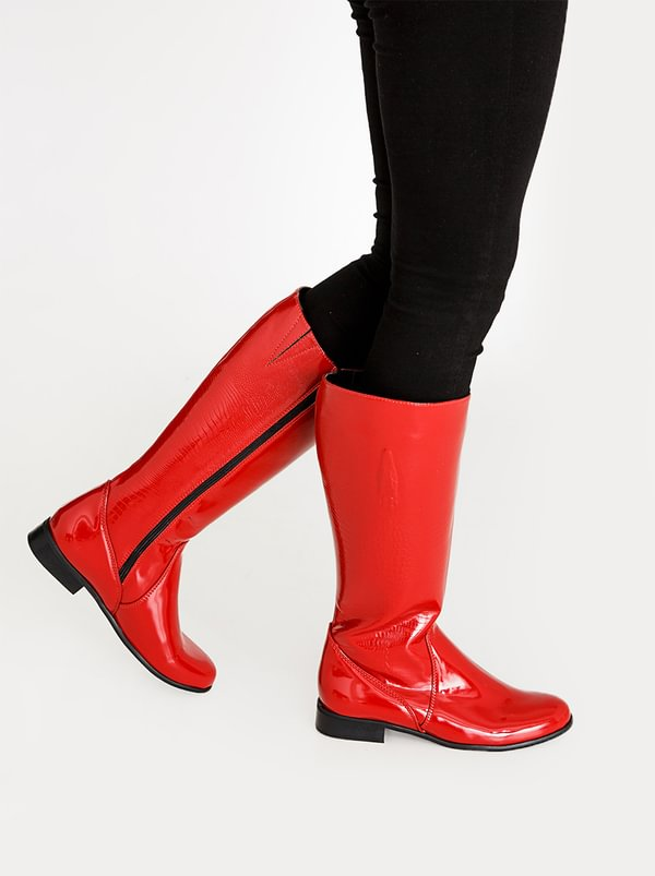 Franco Ceccato Franco Ceccato Croc Print Long Boots Red sale get to buy eastbay for sale with credit card sale online outlet free shipping authentic WLJhd88