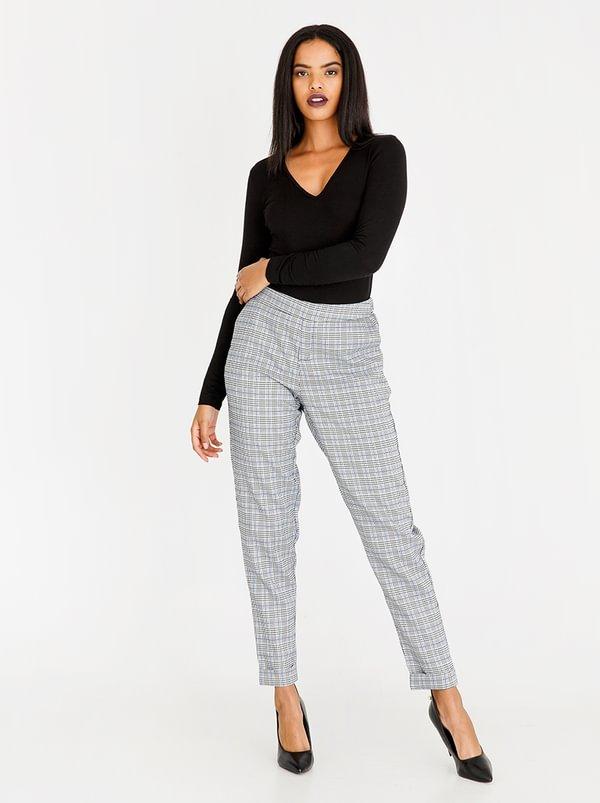 Plaid Check Trouser Multi-colour | cath.nic