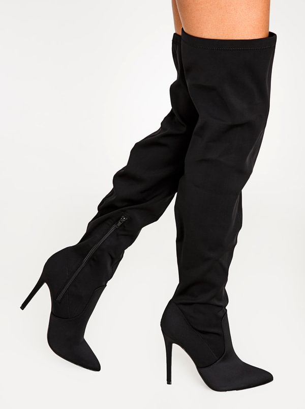 big discount cheap price latest collections sale online Kenna Thigh-High Boots Black Madison really sale online ySGud6