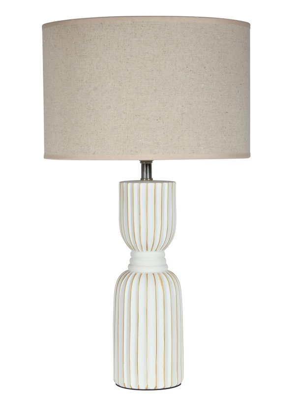 Eurolux Polyresin Table Lamps Neutral