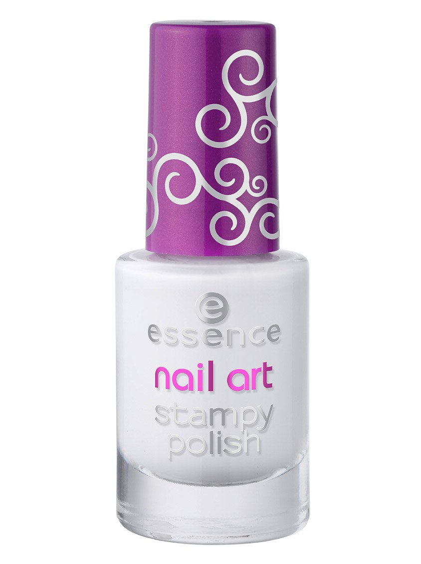 Essence Nail Art Stampy Polish 01 To Bend Light
