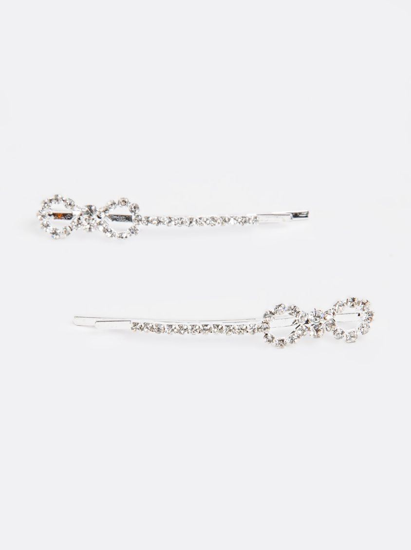 3b17b91a4 Joy Collectables Diamante Hair Pins Silver