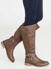 Franco Gemelli Franco Gemelli Agatha Rider Boots Brown clearance 100% authentic outlet pay with visa explore for sale P4FIkrElaU