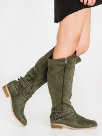 sale low shipping fee Berklee Knee-Length Boots Taupe Jada view WVAxG