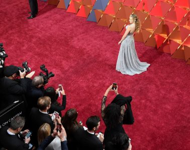 Aerial view of the 89th Academy Awards