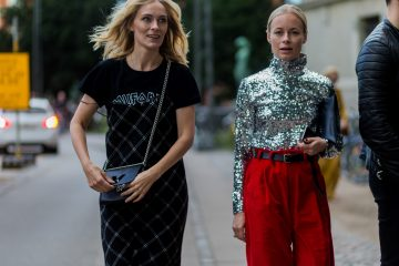 Street Style Trend Report Winter AW17 How to wear sequins