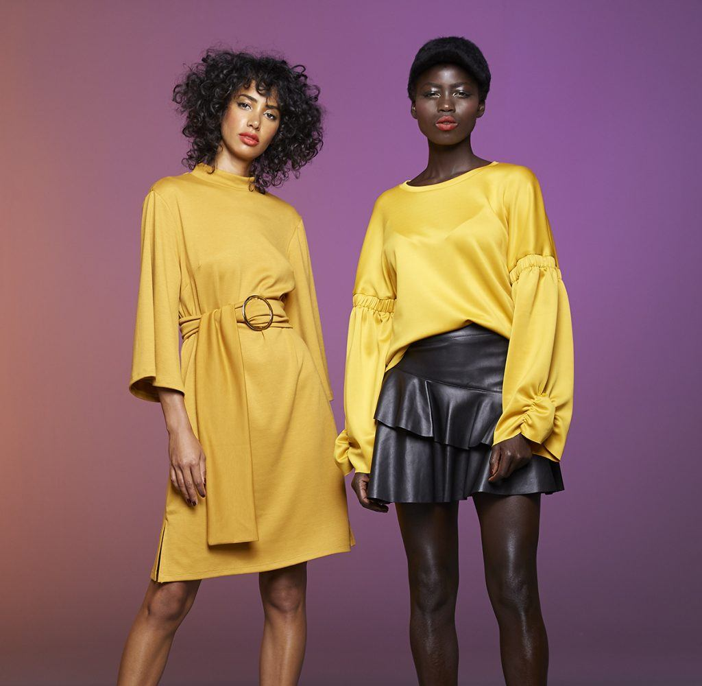 we'll take a double serving of saffron for aw18, please…